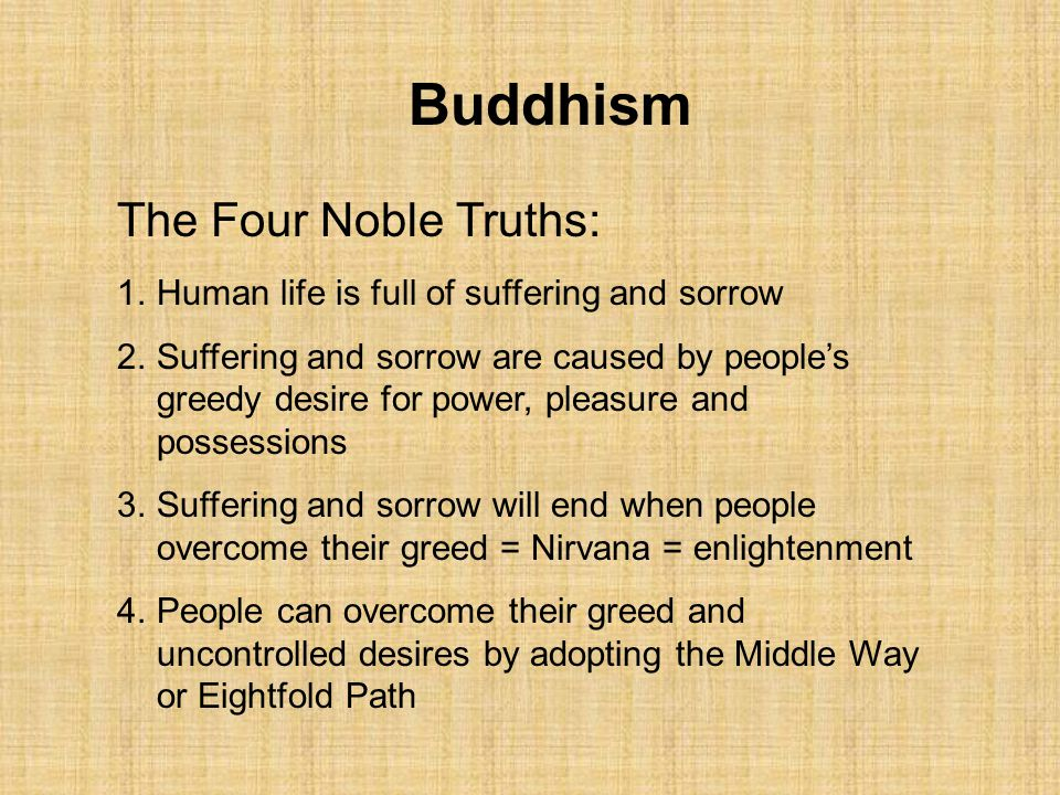 four noble truths thesis Buddhism: 4 noble truths essaysthe four noble truths are key components to the understanding of buddhism and the buddha's teaching the first noble truth is suffering.
